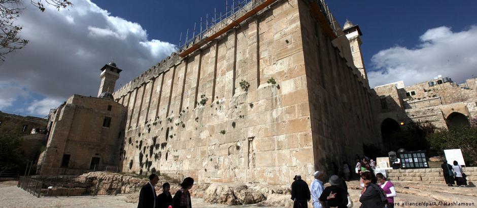 No centro antigo de Hebron está localizado o Túmulo dos Patriarcas, para judeus, ou Mesquita de Ibrahim, para muçulmanos