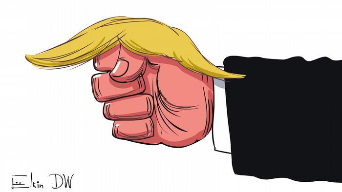 Дональд Трамп опубликовал видео, на котором он избивает человека с логотипом CNN вместо лица.
