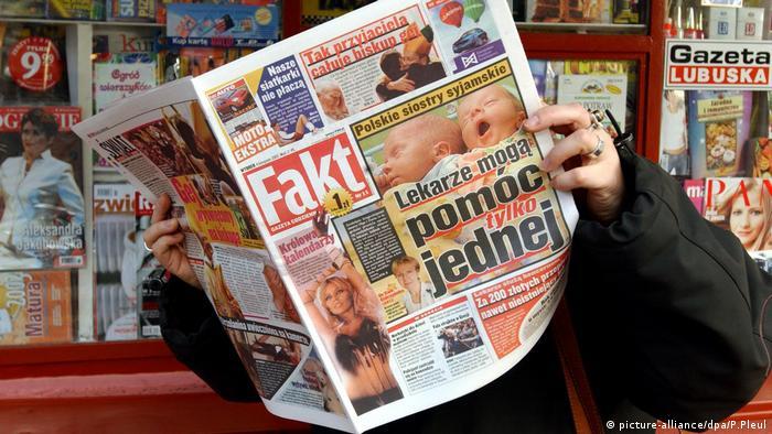 Erste Springer Tageszeitung in Polen Fakt