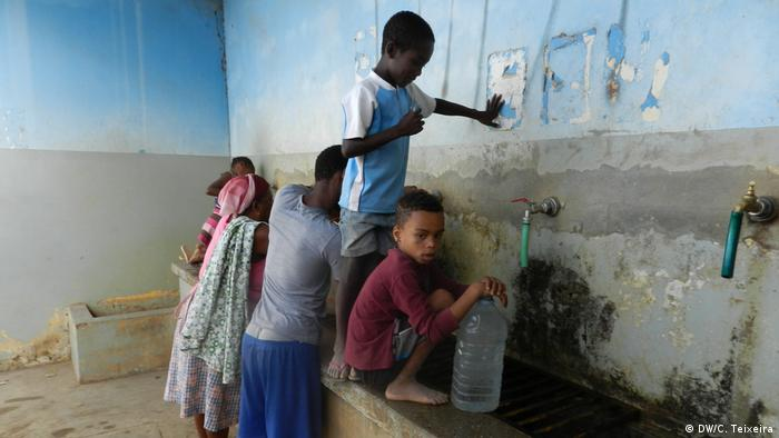 Bildergalerie Wasser-Entsalzung mit europäischer Technologie auf den Kapverden (DW/C. Teixeira)
