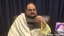Pakistani liberal Political party MQM's chief Altaf Hussain exclusively spoke to DW's Atif Tauqeer in London