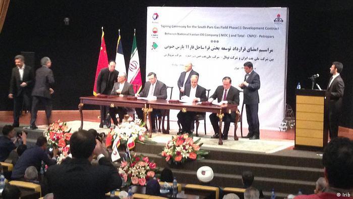 Iran,Total, Ölabkommen (Irib)
