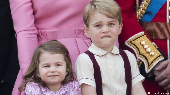 Prince George and Princess Charlotte (Photo: imago/i Images)