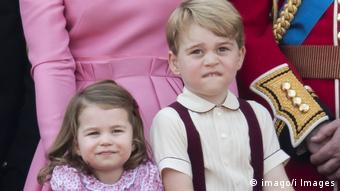 Princess Charlotte and Prince George (imago/i Images)