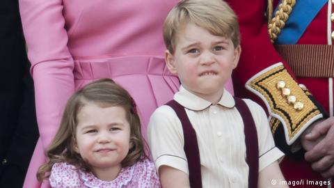 Prince George and Princess Charlotte (Photo: imago/i Images)