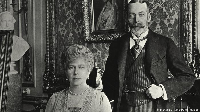 King Georg V and wife Maria von Teck (Photo: picture-alliance/akg-images)