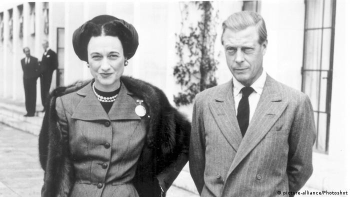 Edward VIII with Wallis Simpson (Photo: picture-alliance/Photoshot)