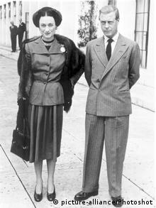 Edward VIII mit Wallis Simpson