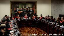 Venezuela | Maikel Moreno während einer Pressekonferenz