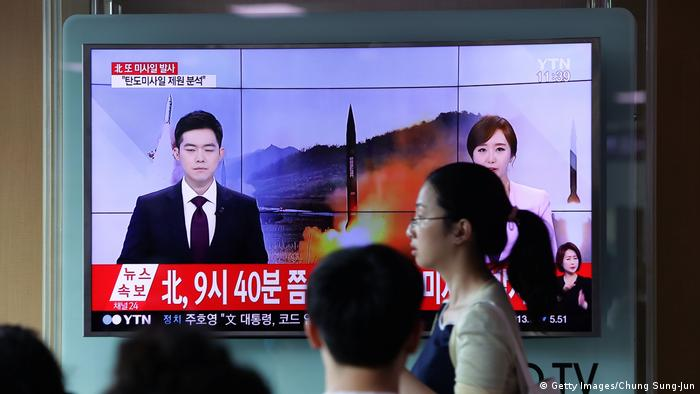 Nordkorea Raketentest (Getty Images/Chung Sung-Jun)