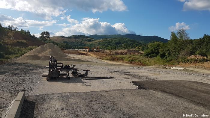 Mazedonien Autobahn Kicevo-Ohrid (DW/K. Delimitov)