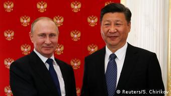 Russland Wladimir Putin empfängt Xi Jinping