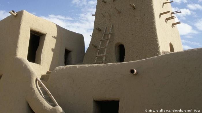 Timbuktu's Djinguereber Mosque in Mali is a UNESCO World Heritage Site.