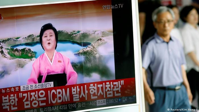 Nordkorea Raketentest (Reuters/Kim Hong-Ji)