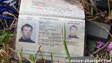 Ukraine Pass des getöten Journalisten Andrea Rocchelli