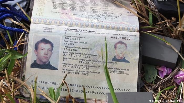 Паспорт Андреа Роккеллі