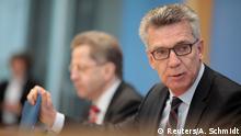 Deutschland Vorstellung des Verfassungsschutzberichts 2016