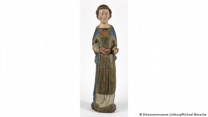 Ангел в облачении диакона из аббатства Мариенштатт в Германии