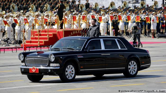 Staatskarosse (picture-alliance/AP Images/N. H. Guan)