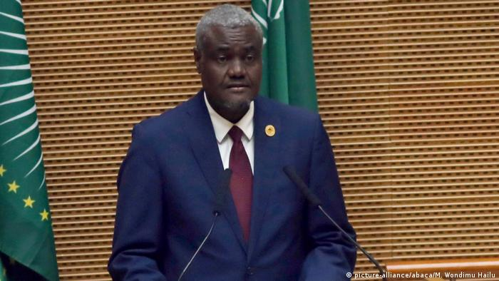 Moussa Faki, chairperson of the African Union Commission