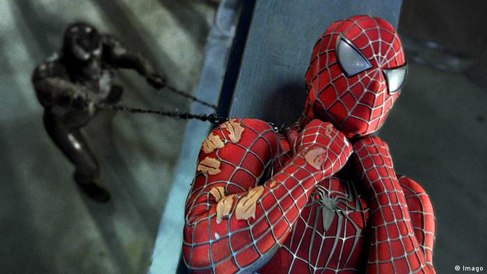 film still: Spider Man III (Imago)