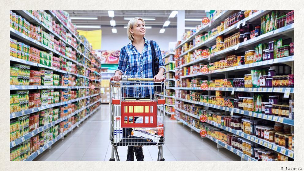 Deutschkurse | Wortschatz | WBS_Foto_Supermarkt