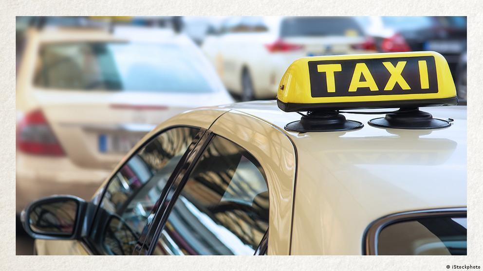 Deutschkurse | Wortschatz | WBS_Foto_Taxi