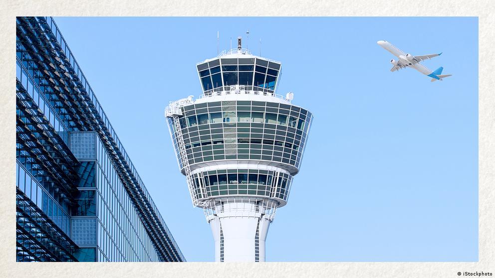 Deutschkurse | Wortschatz | WBS_Foto_Flughafen