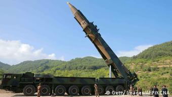 Nordkorea Raketentest Hwasong-14 (Getty Images/AFP/KCNA)