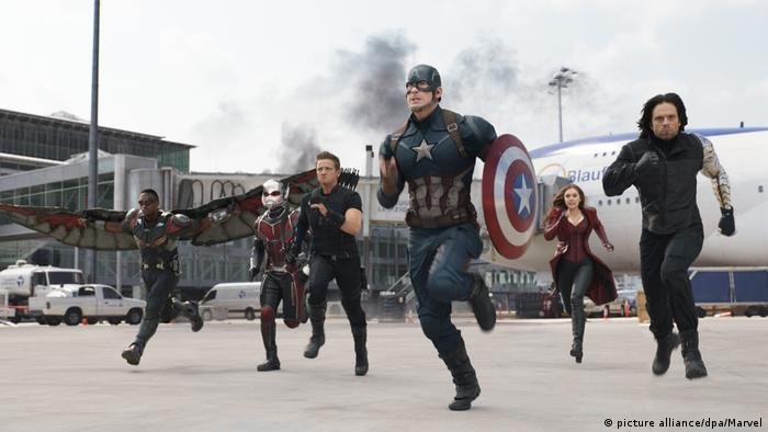 film still: The First Avenger: Civil War (picture alliance/dpa/Marvel)
