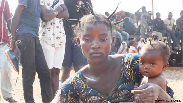 Angola Lisboa Kongolesische Flüchtlinge