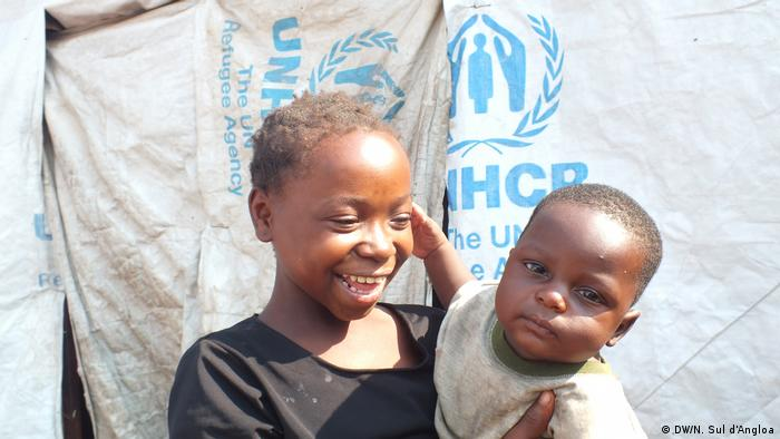 Angola Lisboa Kongolesische Flüchtlinge (DW/N. Sul d'Angloa)