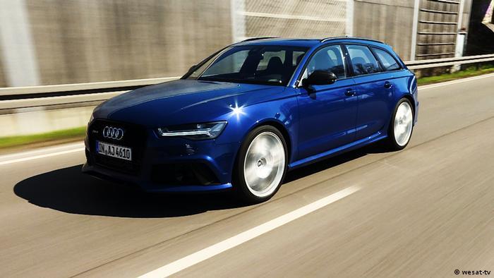 Электромобиль Audi RS6