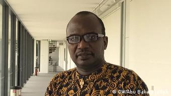 Isaac Mugabi (DW/Abu Bakarr Jalloh)