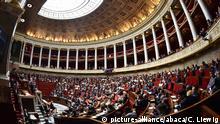 Frankreich Nationalversammlung Premierminister Edouard Philippe