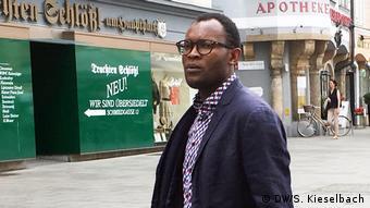 Österreich Kongolesische Autor Fiston Mwanza Mujila in Graz