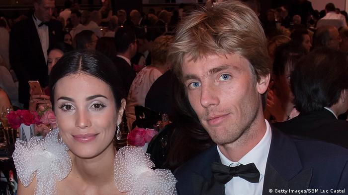 Alessandra de Osma y Christian de Hannover.