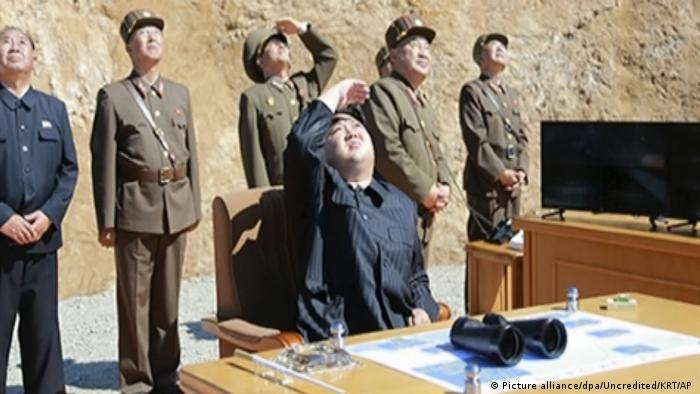 Nordkorea - Angeblicher Test einer Interkontinentalrakete (Picture alliance/dpa/Uncredited/KRT/AP )