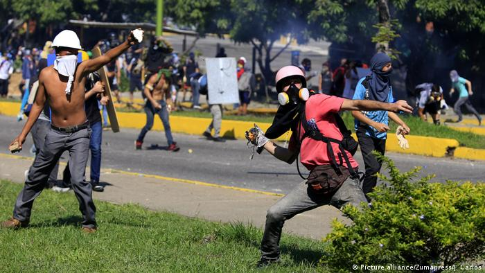 Venezuela Krise Protest (Picture alliance/Zumapress/J. Carlos)