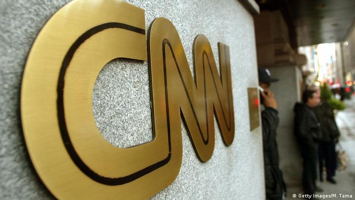 Логотип телекомпании CNN