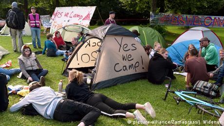 Deutschland G20 Gipfel Proteste
