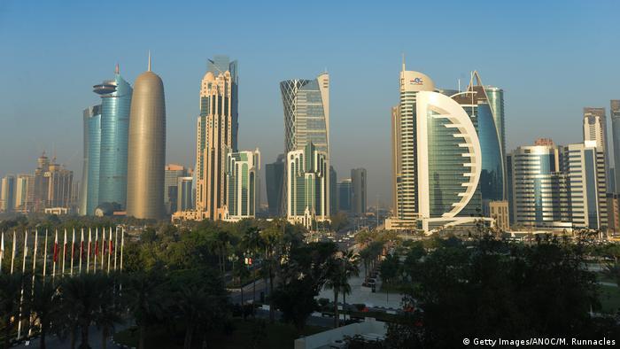 Katar Skyline von Doha