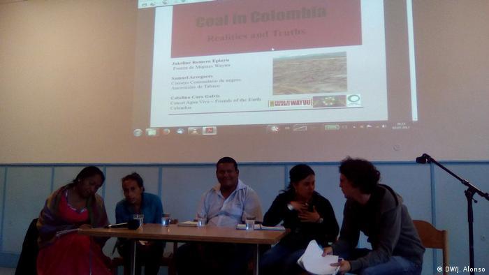 Kolumbien Aktivisten (DW/J. Alonso)