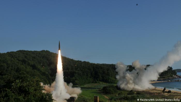 EUA e Coreia do Sul fazem teste conjunto de mísseis