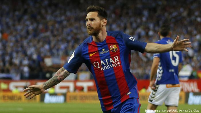 Lionel Messi (picture-alliance/AP/D. Ochoa De Olza)