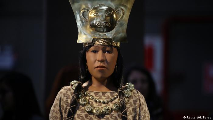 Peru Gesichtsrekonstruktion Dama de Cao (Reuters/G. Pardo)