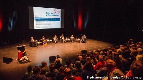 Hamburg - G20-Gipfel - Gipfel für globale Solidarität (picture-alliance/dpa/C. Sabrowsky)
