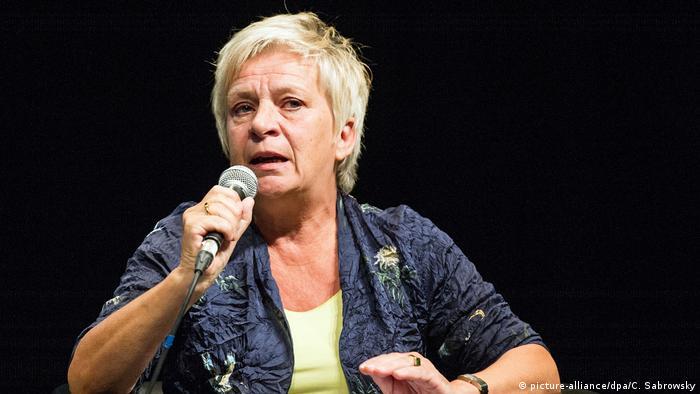 Барбара Унмюссіґ з Фонду Генріха Белля