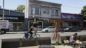 Квартал Haight Ashbury до недавних пор считался одним из самых престижных в Сан-Франциско