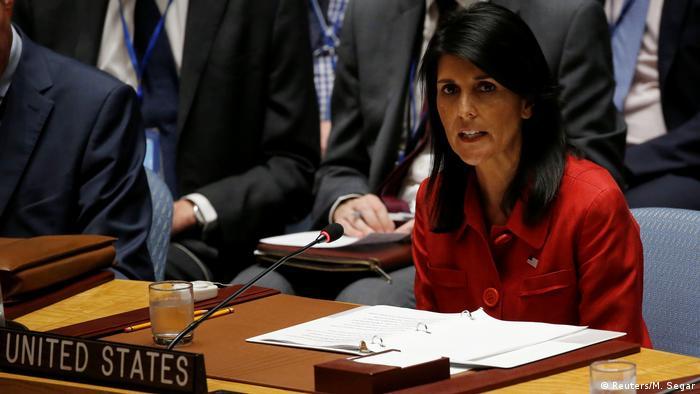 US Botschafterin Nikki Haley (Reuters/M. Segar)